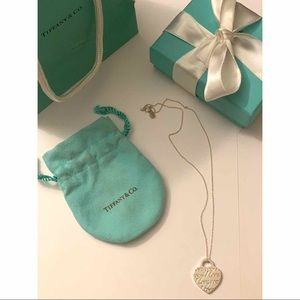 "Authentic Tiffany & Co. ""I love you"" necklace"